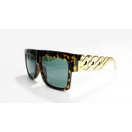 Gold Link Sun Glasses