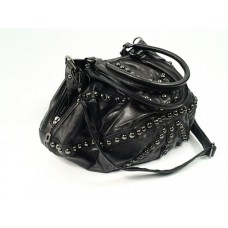 Black Studded Bag