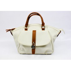 Tan Tote PU Leather Handbag