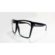 Matte Black Glasses