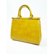 Yellow Structured Bag